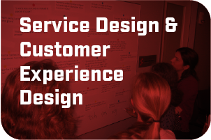 Service design and customer experience design